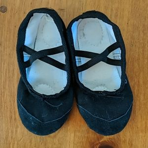Canvas Ballet Dance Slippers Shoes Toddler 8.5
